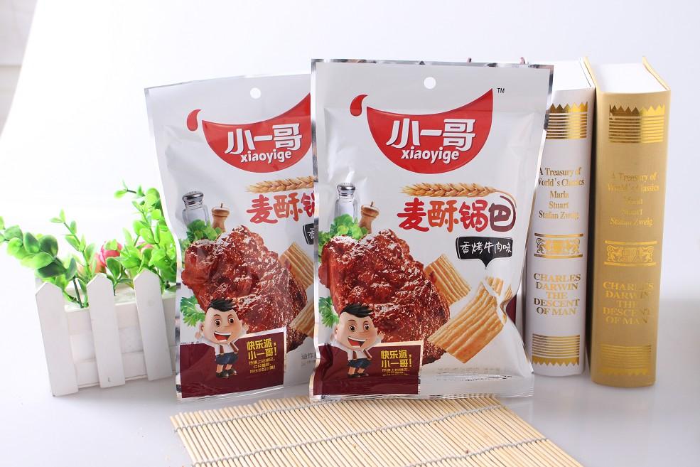 麦酥锅巴——香烤牛肉味