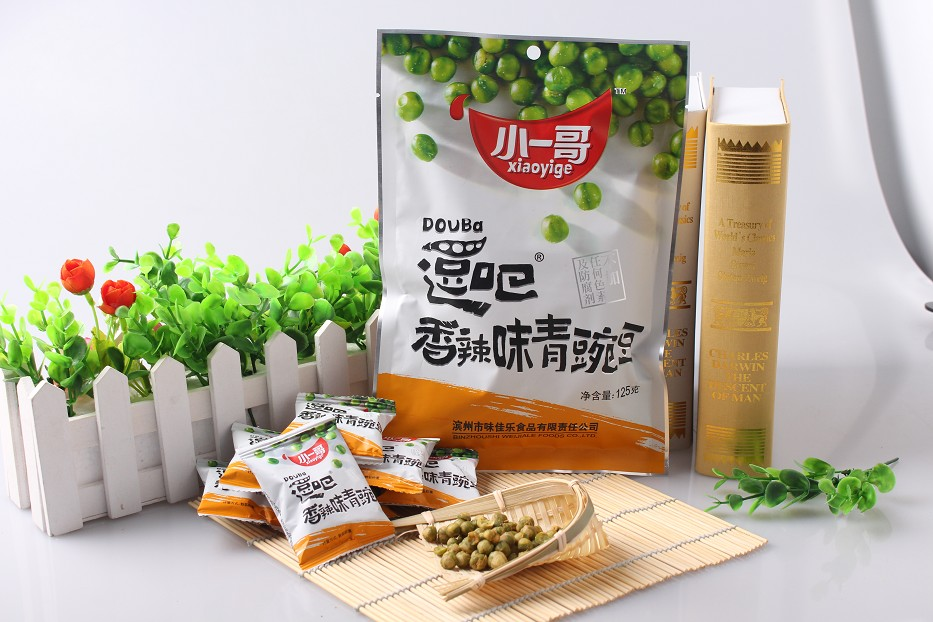 逗吧——香辣味青豌豆125g